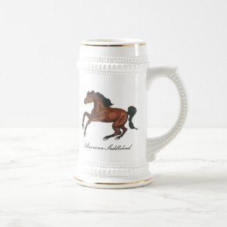 American Saddlebred Horse Beer Steins