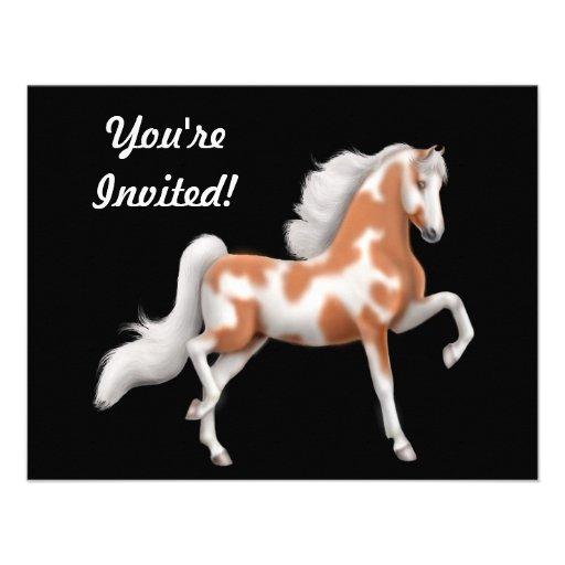 American Saddlebred Horse Invitation