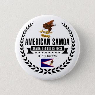 American Samoa 6 Cm Round Badge