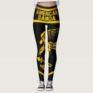 American Samoa Emblem Leggings