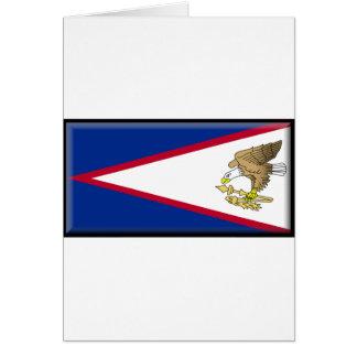 American Samoa Flag Cards