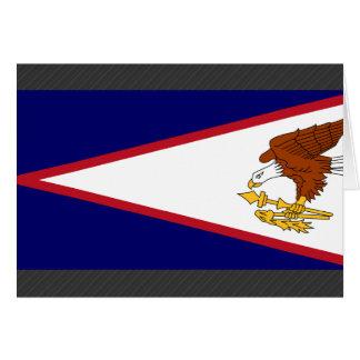 American Samoa Flag Card