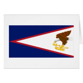 American Samoa Flag Greeting Cards