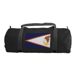 AMERICAN SAMOA Flag Gym Duffel Bag