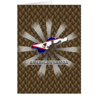 American Samoa Flag Map 2.0 Cards