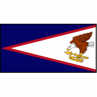 American Samoa Flag Acrylic Cut Outs