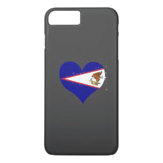 American Samoa Flag Shining Beautiful iPhone 8 Plus/7 Plus Case