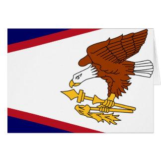 American Samoa High quality Flag Greeting Card