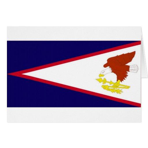 American Samoa National Flag Card
