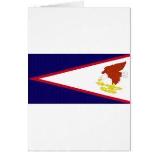 American Samoa National Flag Greeting Cards
