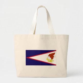 American Samoa National Flag Jumbo Tote Bag