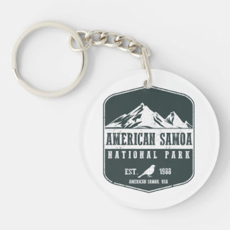 American Samoa National Park Key Ring