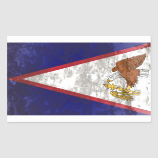 American Samoa Rectangular Sticker