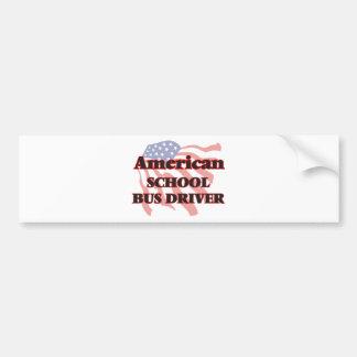 American School Bus Driver Bumper Sticker