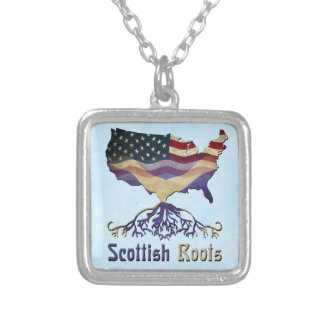 American Scottish Roots Necklace
