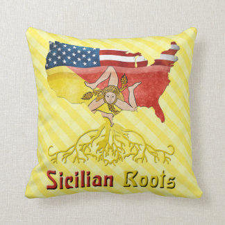 American Sicilian Roots Cushion