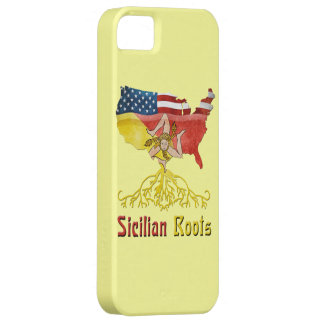 American Sicilian Roots iPhone Smartphone Case iPhone 5 Cases