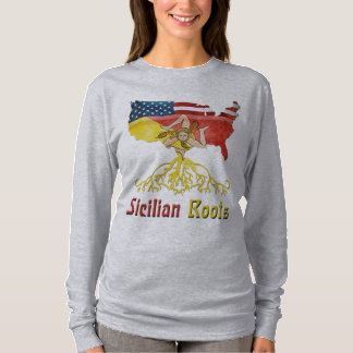 American Sicilian Roots Women's T-Shirt
