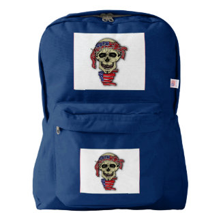 American Skull Backpack