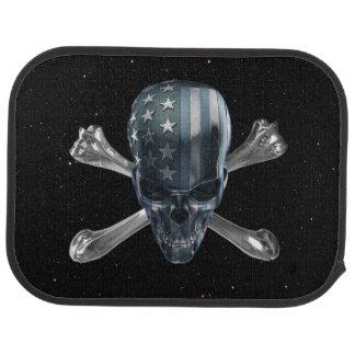 American Skull Rear Car Mat