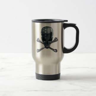 American Skull Travel Mug