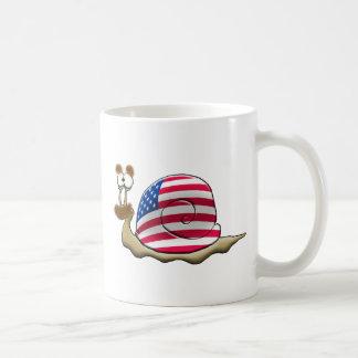 American snail coffee mug