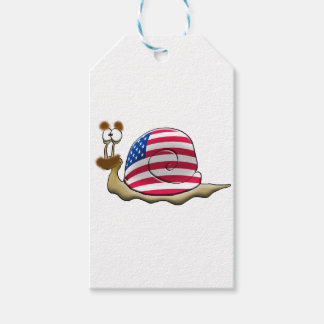 American snail gift tags