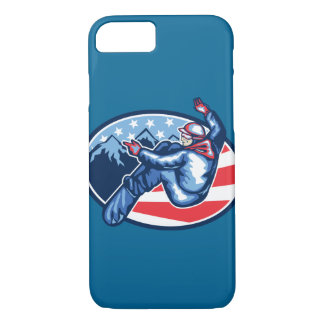 American Snowboarder iPhone 7 Case