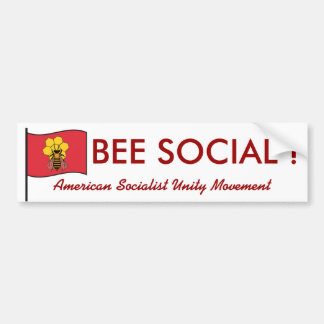 American Socialist Unity Party Bumper Sticker