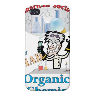 American Society of Mad Organic Chemists iPhone 4 Cover