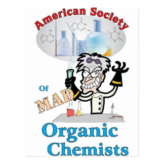 American Society of Mad Organic Chemists Post Card