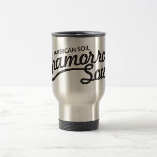 American Soil, Chamorro Soul Travel Mug