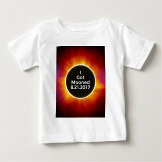 American Solar Eclipse Got Mooned August 21 2017.j Baby T-Shirt