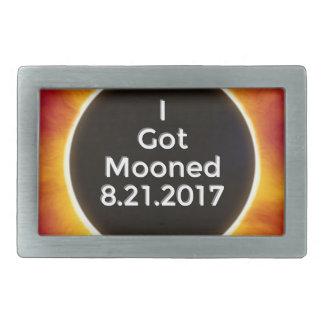 American Solar Eclipse Got Mooned August 21 2017.j Belt Buckles
