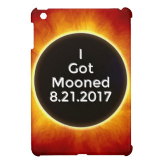 American Solar Eclipse Got Mooned August 21 2017.j iPad Mini Covers