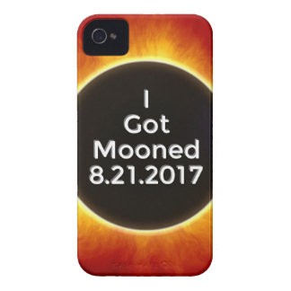 American Solar Eclipse Got Mooned August 21 2017.j iPhone 4 Case-Mate Case