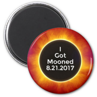 American Solar Eclipse Got Mooned August 21 2017.j Magnet