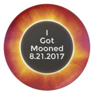 American Solar Eclipse Got Mooned August 21 2017.j Plate