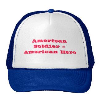 American Soldier = American Hero Mesh Hats