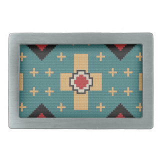 American Southwest Indian Pattern Belt Buckles