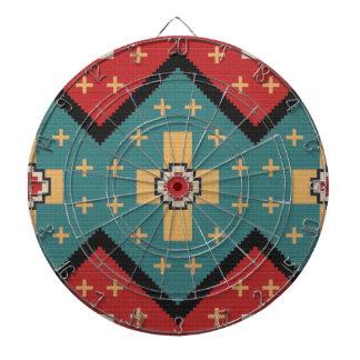 American Southwest Indian Pattern Dartboard