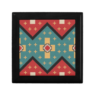 American Southwest Indian Pattern Gift Box