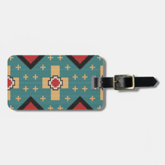 American Southwest Indian Pattern Luggage Tag