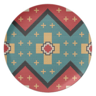 American Southwest Indian Pattern Plate