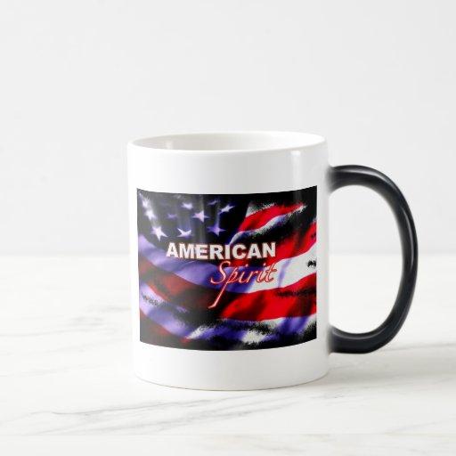American Spirit Motorcycle Coffee Mugs