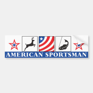 American Sportsman Bumper Sticker