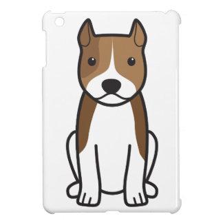 American Staffordshire Terrier Dog Cartoon iPad Mini Cover
