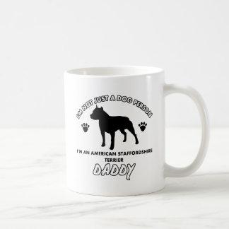 American Staffordshire Terrier Dog Daddy Coffee Mug