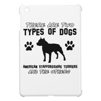 American Staffordshire terrier dog designs iPad Mini Case