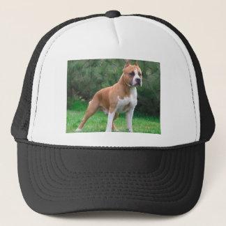 American Staffordshire Terrier Dog Trucker Hat